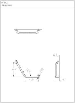 马桶孔距水电尺寸图